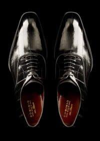 Italian made Eel skin shoes      Domino Shoes