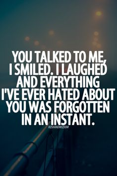 yes true, but still in the end you may just regret talking to that person