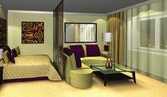 Модный дизайн: Как выполнить планировку спальни