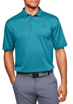 MSRP $65 UA Playoff PoloTrue Gray Heather 025 Under Armour Men/'s