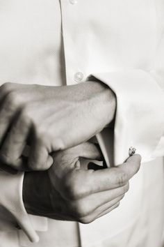 style me pretty - real wedding - new york - long island wedding - private estate - groom - getting ready - cufflinks