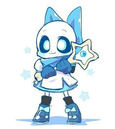 The smol and cute blueberry sans