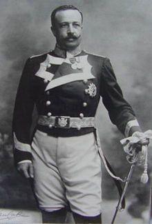 Joaquín Álvarez de Toledo y Caro (1865-1915) - Duque de Medina Sidonia, Marqués de Villafranca, con el uniforme de la Real Maestranza de Caballería de Valencia. FOTO: Kaulak