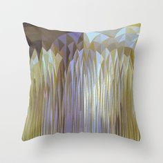 Icy Blast Throw Pillow by Stancu Digital Art - $20.00