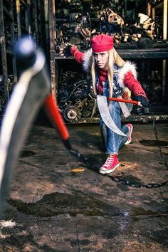 Axl Low (Guilty Gear) Cosplayer: Mikers Cosplay Mmmc