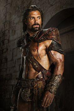 CRIXUS Manu Bennett Once the Champion of Capua and rival to Spartacus, Crixus has since become one of the rebel leader's most trusted generals. He blamed himself for losing Naevia, his love from the House of Batiatus, to a fate worse than death. But, with Spartacus' aid, he rescued her from the mines, almost sacrificing his own life in the process. After an emotional reunion, he trained Naevia to fight like a gladiator. Now, Crixus is focused on war and the defeat of the Roman Republic. He'll...