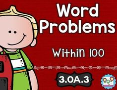 Word Problems Within 100 Math Tasks and Exit Tickets - Use this 22 page resource to help your 3rd grade classroom or homeschool students master story problems within 100. With purchase you'll receive 5 math tasks for cooperative learning, 5 exit tickets for individual assessment, and I can statements. Great for your third grader to use in homework, morning work, math centers or stations, as review, and MUCH MORE! Click through now for all the details! $