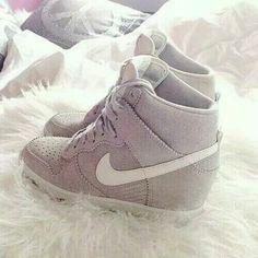 Cute Nike wedge sneakers