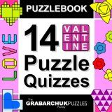 Puzzlebook: 14 Valentine Puzzle Quizzes (SALE for a limited time!)