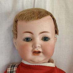 German Bisque Head Mein Liebling Baby by Kammer & Reinhardt from joan-lynetteantiquedolls on Ruby Lane