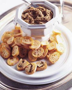 Chicken Liver Pate with White Truffles Patê de figado de frango