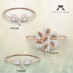 Look look traditionally smart you wear with salwar suits or sarees. Designer Bangles, Gold Bangles Design, Gold Jewellery Design, Gold Jewelry, Jewlery, Diamond Bracelets, Bangle Bracelets, Delicate Rings, Diamond Design