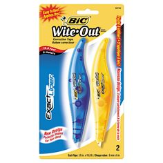 BIC Wite-Out Exact Liner Correction Tape Pen 6-count