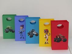 10 Blaze and the Monster Machines Party Favor by Lovelyhandscrafts