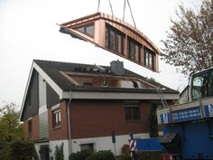 Gaubentechnik with system - SPS.Gauben :: Segment arch dormerGaubentechnik with system - SPS.Gauben :: Segment arch dormer The Roof House Save Continues in Berlin Danish Sigurd Larsen is a young architect and fu. Dormer Roof, Shed Dormer, Dormer Windows, Loft Conversion Design, Dormer Loft Conversion, House Extension Design, Roof Extension, Bungalow Extensions, House Extensions