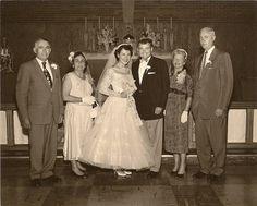 1950s ballerina wedding dress
