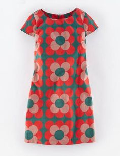 Harriet Shift Tunic Dress WH875 Day Dresses at Boden