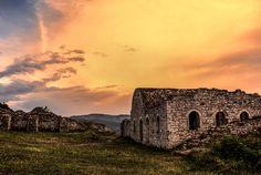 Castle of Berat, Albania.