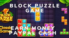 Block Puzzle Game To Earn Money PayPal Cash Free Cash Reword Apps Block Puzzle Game, Make Money Online, How To Make Money, Free Cash, Earn Money, Games, Link, Earning Money, Gaming