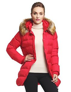 50% OFF SALE PRICE - $41.2 - WenVen Women's Thickened Down Jacket