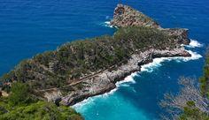 Sa foradada. Serra de tramuntana. Illes Baleras.