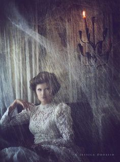 Gloomy maid indeed.