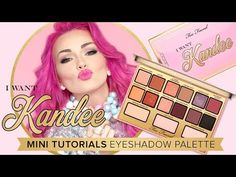 I Want Kandee Candy Eyes Eye Shadow Palette - Too Faced
