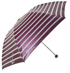 New Fashion Stripe Anti-UV Folding 55x7 Umbrella 8 Colors