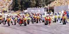 Sweden GP 500 start in 1984(Nori)