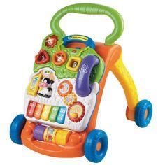 Loue trotteur pour aider bébé dans l'apprentissage de ses premiers pas.Très bon état. Fourni avec des piles fonctionnelles.