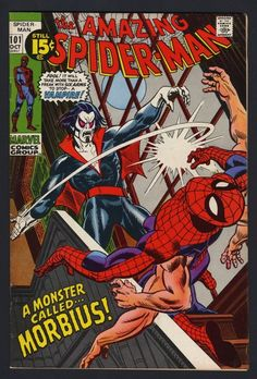a monster called... morbius!
