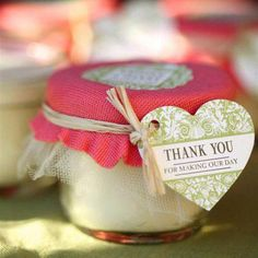 When the party's over, it's time for your guests to pick their wedding favors up. When the party's over, it's time for your guests to pick their wedding favors up! These unique ideas will have everyone . Coffee Wedding Favors, Summer Wedding Favors, Indian Wedding Favors, Honey Wedding Favors, Homemade Wedding Favors, Creative Wedding Favors, Elegant Wedding Favors, Fall Wedding, Wedding Weekend