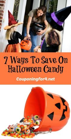 7 Ways To Save On Halloween Candy - Halloween candy purchases can get really expensive, so let these seven ways to save on Halloween candy give you some ideas for not breaking the budget!