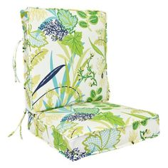 Jordan Manufacturing 24 x 22.5 in. Outdoor Boxed Cushion with Cording - Outdoor Cushions at Hayneedle