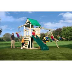 Swing-N-Slide Creekside Wood Swing Set