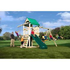 Swing-N-Slide Creekside Wood Swing Set