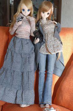 Smart Doll Kizuna Yumeno and Mirai Suenaga by 5777Hiroq