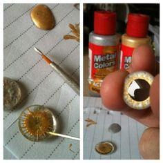 DIY - Faça você mesmo seus eyechips - resultado final!!