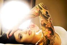 50 Awesome Examples of Sleeve Tattoos for Women