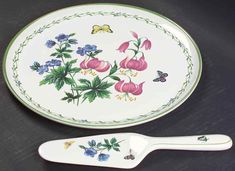 Studio Nova GARDEN BLOOM Cake Plate & Server (Boxed Set) 1772263 #StudioNova