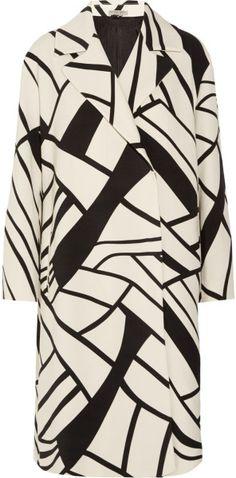 Bottega Veneta Love this: Printed Woolcrepe Coat @Lyst