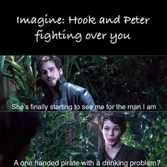 Peter Pan imagine imagine by Peter-Pans-Lost-Girl on DeviantArt Once Upon A Time Peter Pan, Once Upon A Time Funny, Once Up A Time, Peter Pan Ouat, Robbie Kay Peter Pan, Disney Memes, Disney Quotes, Disney Songs, Lost Girl