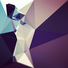 Playing with the Dmesh app - its lobos face by mimobase, via Flickr