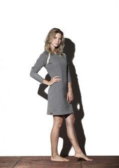 Sukienka taliowana - Pine Sukienki dostępne w rożnych kolorach możesz kupić na: http://bozzolo.pl/kobieta/sukienki-dzianinowe-sklep-internetowy.html