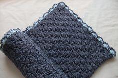 Baby Boy Blanket - Crochet baby blanket