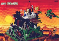 LEGO® Instructions 6082 Fire Breathing Fortress