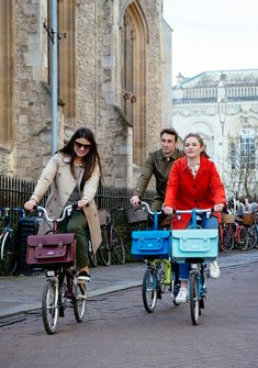 courtnee cycles chic | Brompton has two collaborations in the mix with Cambridge Satchel Company and Vespertine.