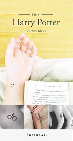Tiny Harry Potter tattoo ideas for minimalists.