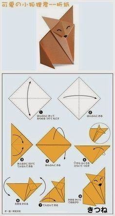 tuto d'origami facile