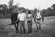 engagement inspiration with horses
